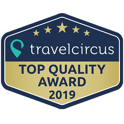 Travelcircus Top Quality Award 2019