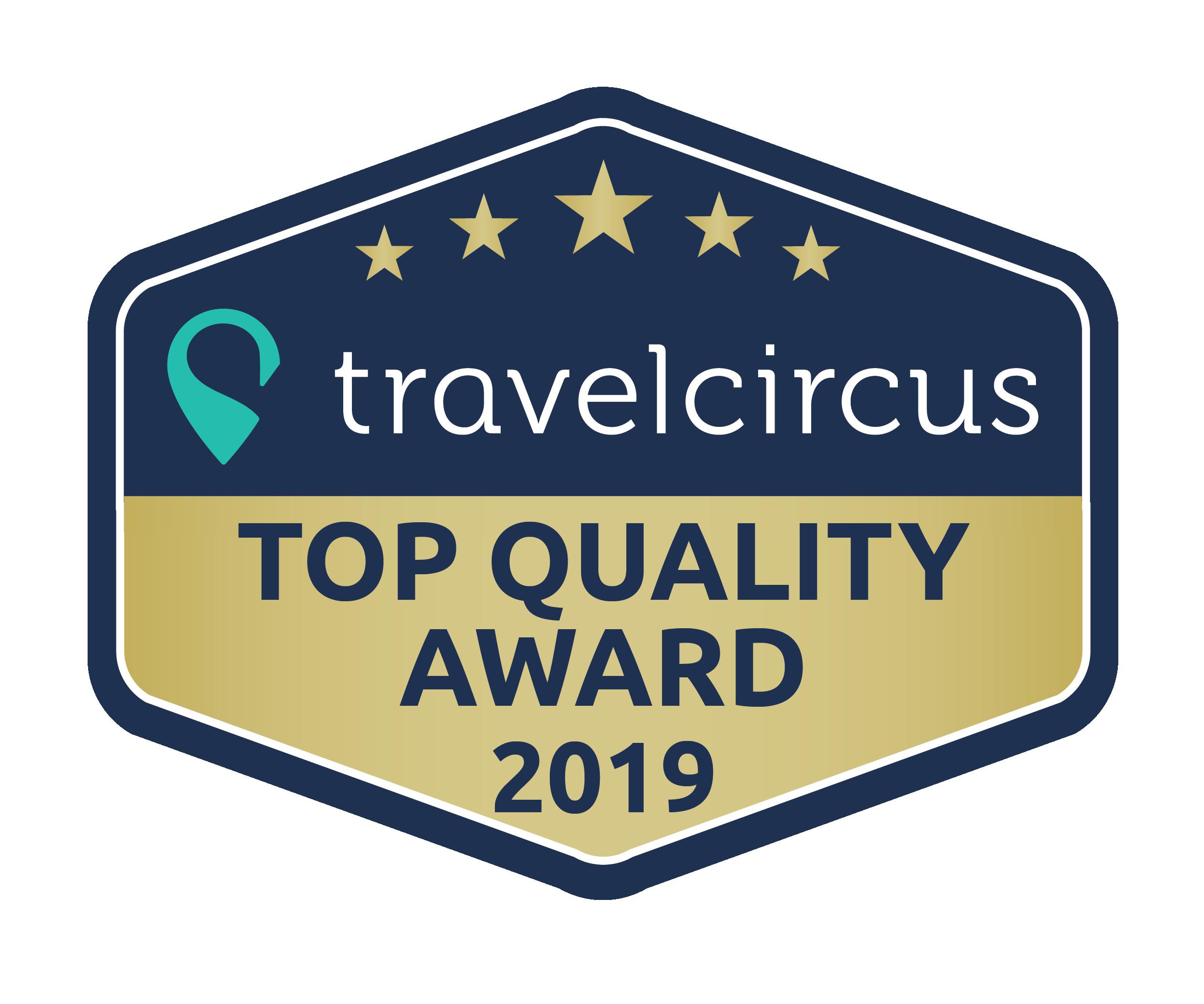 Travelcircus Quality Award 2019