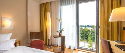Relax Doppelzimmer mit Seeblick (mit Frühstück)