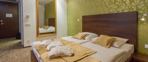 Doppelzimmer im Hotel Rimski dvor