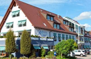 Sinnliche Erholung am Bodensee mit fantastischem Bergpanorama