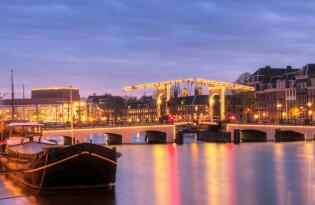 Städtetrip nach Amsterdam mit höchstem Komfort und Blick auf das IJmeer