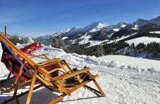 Wintertraum: Gourmet- und Wellnessurlaub in den Allgäuer Alpen