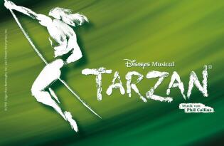 Willkommen im wilden Dschungel von Disneys Musical TARZAN in Oberhausen