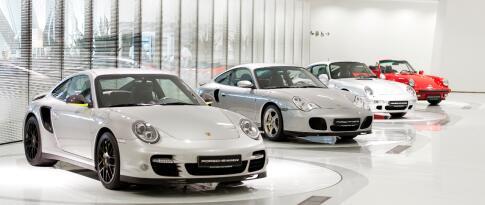 Eintritt in das Porschemuseum