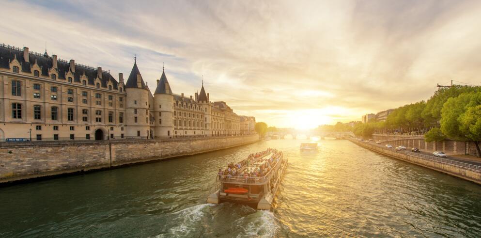 Städtereise Paris mit Bootstour 13024