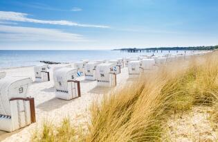 Ostseeurlaub auf Rügen direkt am Strand: Erholung und Wohlbefinden pur