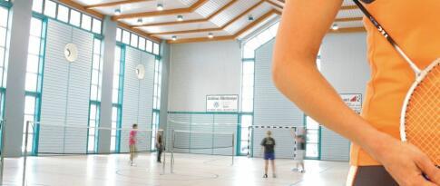 Spiel, Satz und Sieg, Victor's! 1h Squash oder Badminton