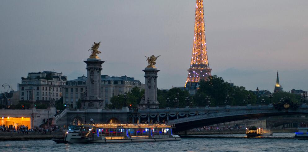 Städtereise Paris mit Bootstour 13109