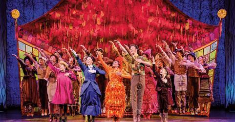 MARY POPPINS Musical Stuttgart 4