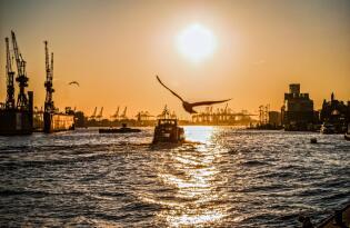 Bestaunen Sie Hamburgs einzigartige Sehenswürdigkeiten vom Wasser