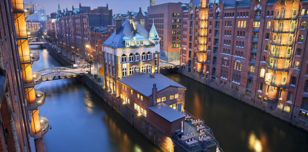 Städtereise Hamburg mit Hafenrundfahrt 13471