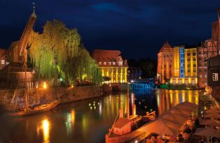 Romantische Zweisamkeit im mittelalterlichem Flair in Lüneburg