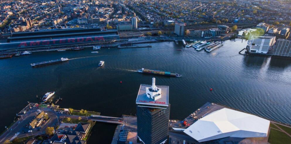 Citytrip Amsterdam mit A'dam Lookout 13812
