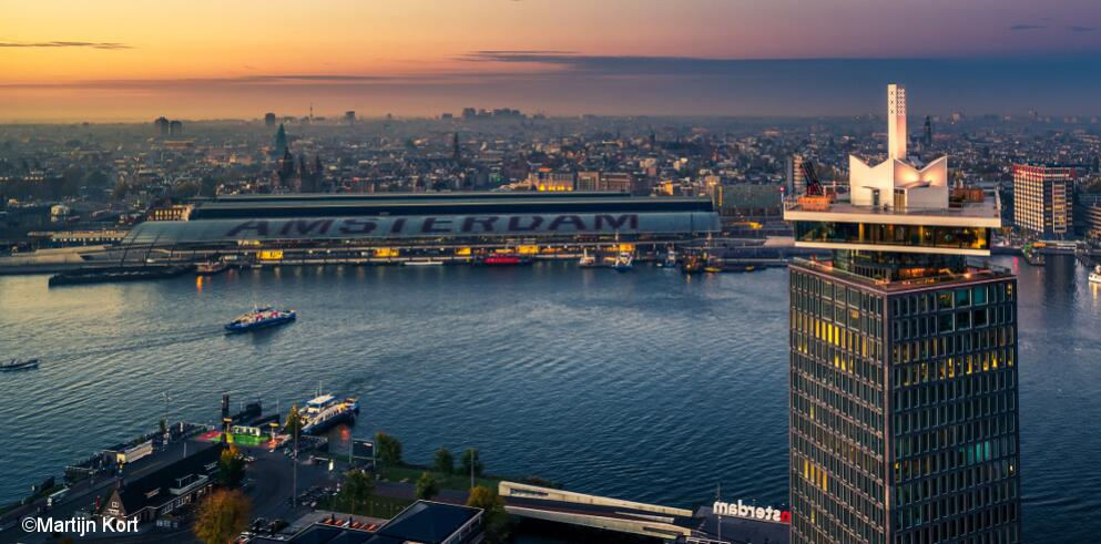 Citytrip Amsterdam mit A'dam Lookout 13992