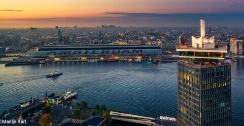 Citytrip Amsterdam mit A'dam Lookout 0