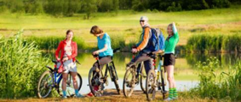 Fahrradverleih (Mountainbikes)