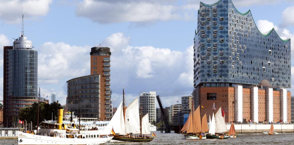 Städtereise Hamburg mit Hafenrundfahrt 14705