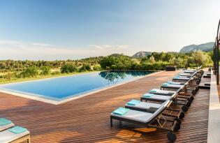 Luxuriöses Traumhotel auf Mallorca in romantischer Naturkulisse