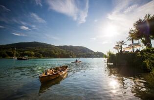 Entspannte Urlaubstage für Körper und Geist am herrlichen Wörthersee