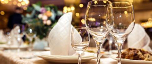 Candlelight-Dinner ohne Weinbegleitung