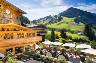 Einzigartige Verwöhntage mit malerischem Panorama im Salzburger Land