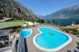 Wohlfühlen und Auftanken im stylischen Hotel am Gardasee