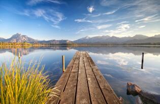 Entspannte Wellnesstage in der Allgäuer Berg- und Seenlandschaft
