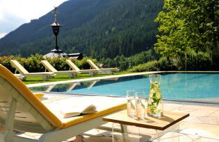 Urlaubsfeeling pur inmitten der imposanten Kulisse der Kitzbüheler Alpen