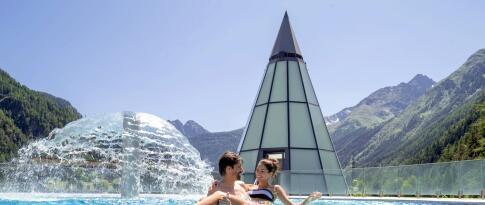 Freie Nutzung der Aqua Dome Therme