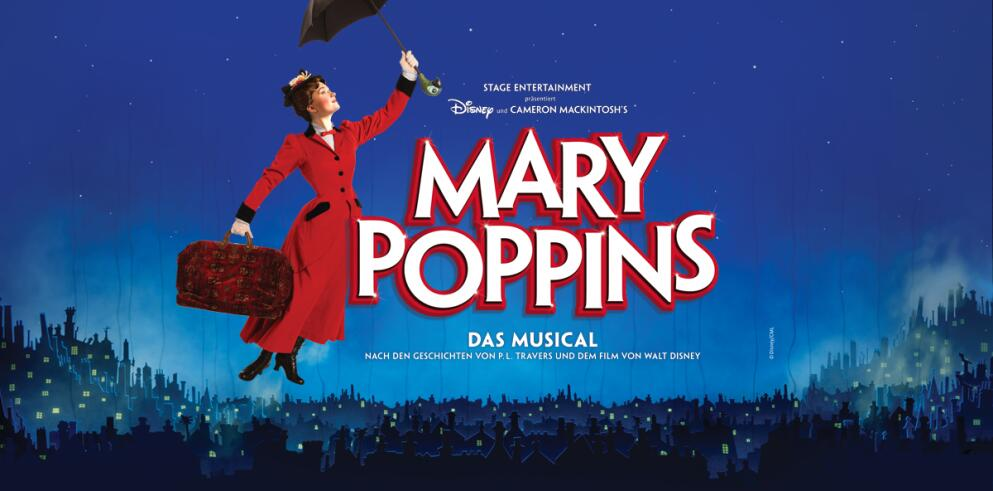 mary poppins musical tickets inkl hotel angebote. Black Bedroom Furniture Sets. Home Design Ideas