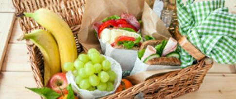 Picknick Paket für Ausflüge