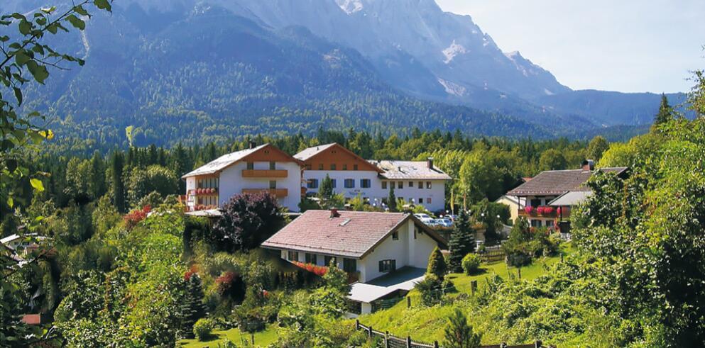 Romantik Alpenhotel Waxenstein 1911