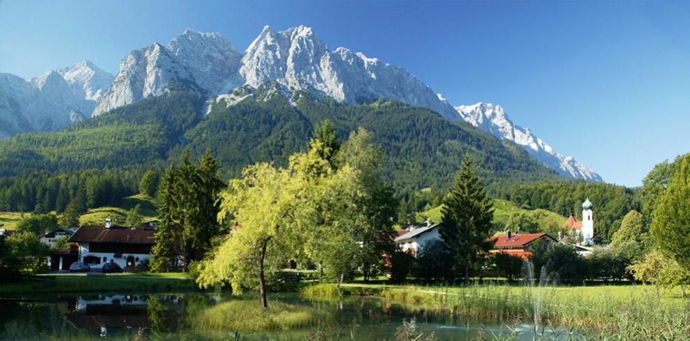 Romantik Alpenhotel Waxenstein 1915