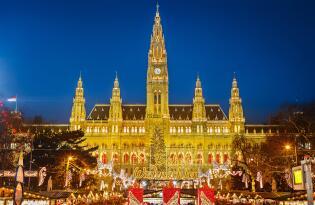 4 Tage Weihnachtskreuzfahrtfahrt über die Donau von Passau bis Wien