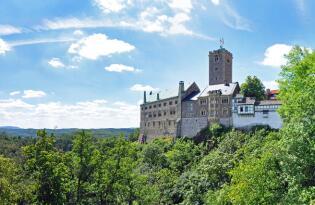 Ruhe und Erholung am Fuße der weltbekannten Wartburg im Thüringer Wald