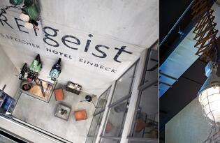 Für Querdenker und Hobbyrennfahrer - Designhotel im stylischen Ambiente
