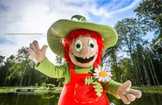 Idyllischer Erholung im Teutoburger Wald inklusive Landesgartenschau