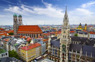 Citytrip München im hervorragenden Hotel nahe vieler Sehenswürdigkeiten
