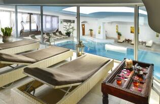 Wellnessauszeit im eleganten Hotel in Panoramalage am Fuße der Dolomiten