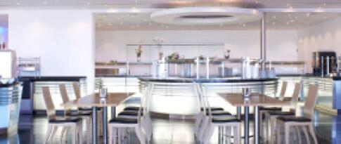 Mittagessen im Buffetrestaurant Casino