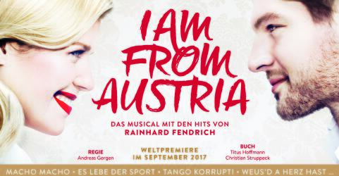 I AM FROM AUSTRIA - Das Musical 0