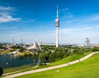 Olympiapark in Muenchen