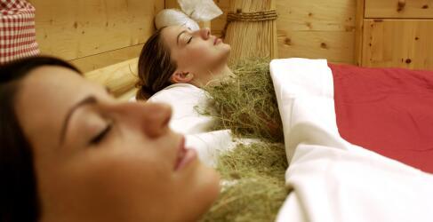 Wellness Alpen Heubad