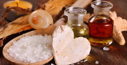 Wellness Oele und Salze