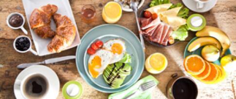 Tägliches Frühstück