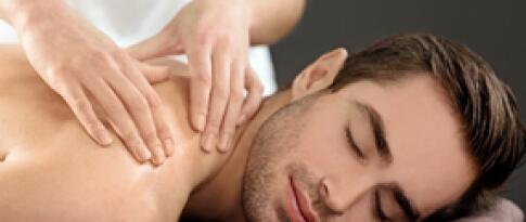 Rückenmassage mit Aromaölen (25 Minuten)