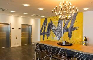 Modernes Designhotel mit Wohlfühlatmosphäre mitten im Herzen von Leipzig
