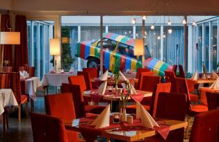Frech, jung und farbenfroh - Modernes Cityhotel in erfrischendem Design