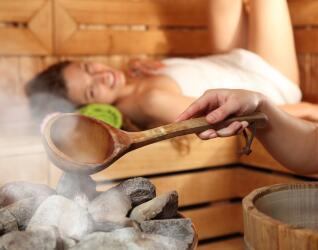 Wellness Sauna in Tirol